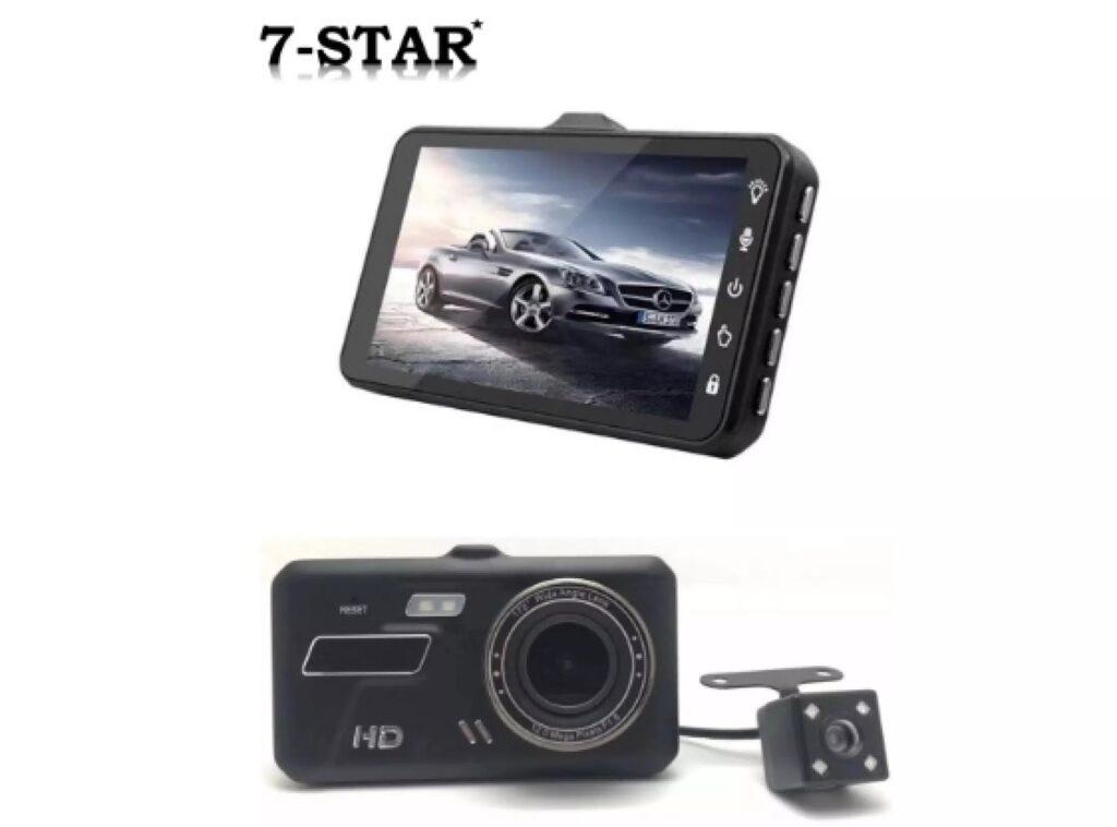 7-STAR Touch Screen 4.0 inch Car DVR Dual Lens Dashcam in Singapore