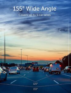 Best Dash Cameras in Singapore Angle Coverage