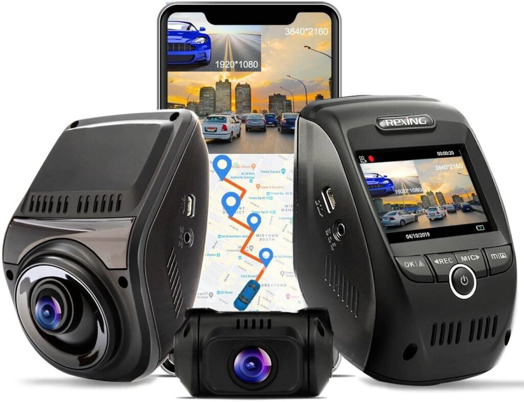 Rexing V1P Max Dual Channel Cameras Singapore