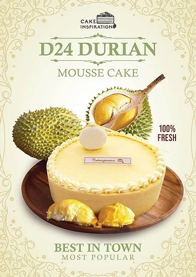 Cake Inspiration Durian Cakes in Singapore
