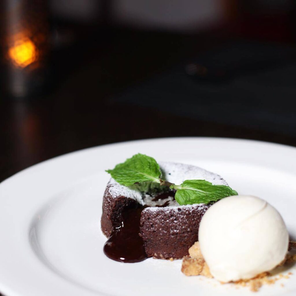 Wooloomooloo Steakhouse Chocolate Lava Cake in Singapore