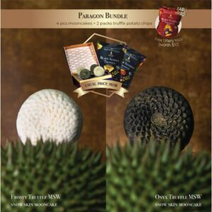 Aroma Truffle Bundle Musang King Mooncakes and Chips