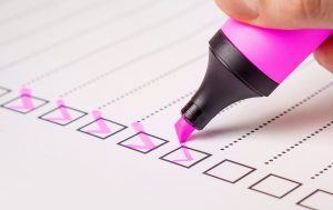 checklist Plan
