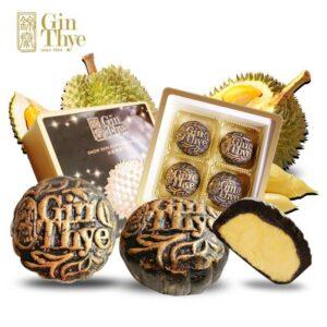 Gin Thye Charcoal Mao Shan Wang Snowskin Mooncake