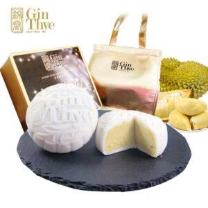 Gin Thye Mao Shan Wang White Snowskin Mooncake