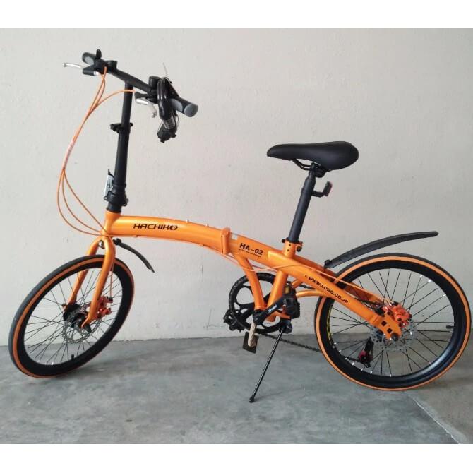 Hachiko HA-02 20-inch Foldable Bike Singapore