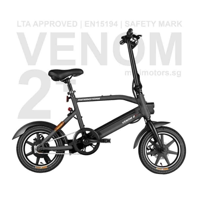 Venom 2+ electric bike in Singapore